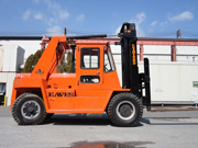 Eaves 30,000 lb Pneumatic Forklift