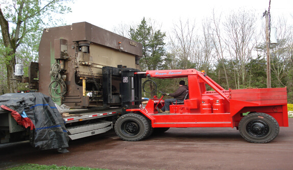 Industrial Plant Service Forklift Services